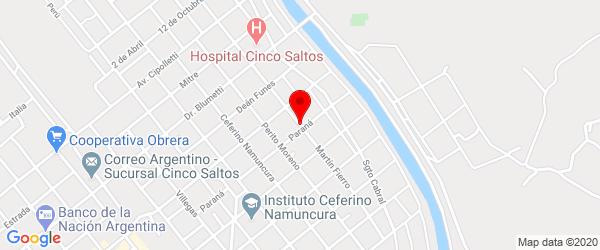 Martín Fierro 325, Cinco Saltos, Río Negro