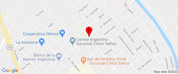 Blumetti, Cinco Saltos, Río Negro