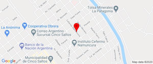 Ceferino Namuncurá 485, Cinco Saltos, Río Negro