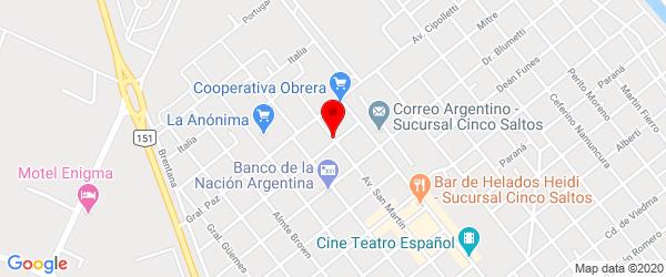 Av. San Martín 936, Cinco Saltos, Río Negro