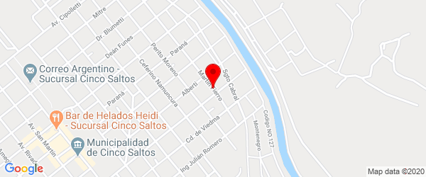 Martín Fierro 177, Cinco Saltos, Río Negro