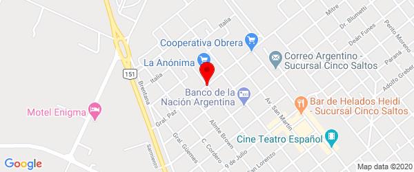 Av. General Paz 405, Cinco Saltos, Río Negro