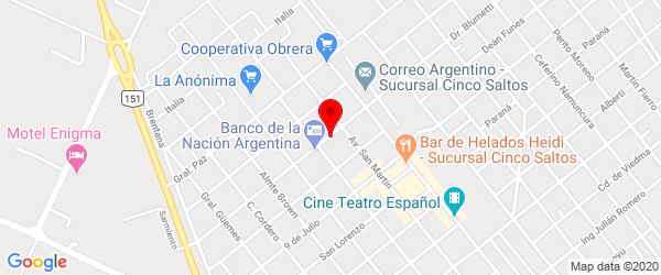 Sarmiento 158, Cinco Saltos, Río Negro