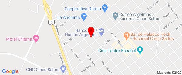 Ameghino 842, Cinco Saltos, Río Negro