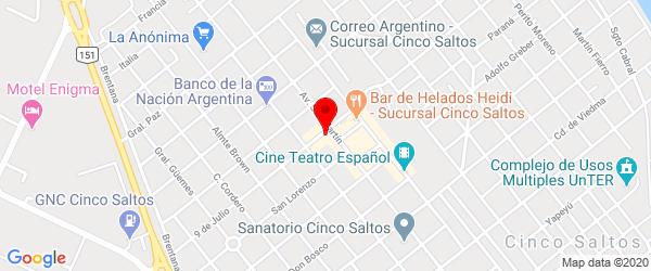 Av. San Martín 580, Cinco Saltos, Río Negro