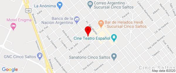 Av. Rivadavia 490, Cinco Saltos, Río Negro