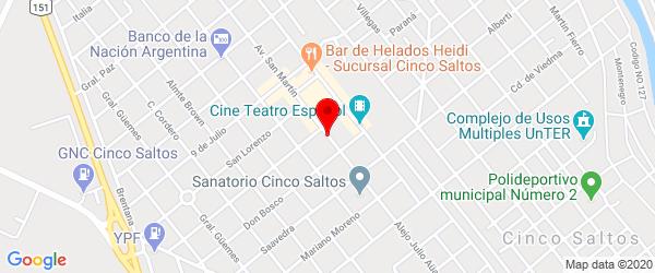 Av. San Martín 388, Cinco Saltos, Río Negro