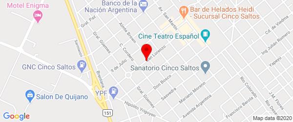 Av. San Lorenzo 425, Cinco Saltos, Río Negro