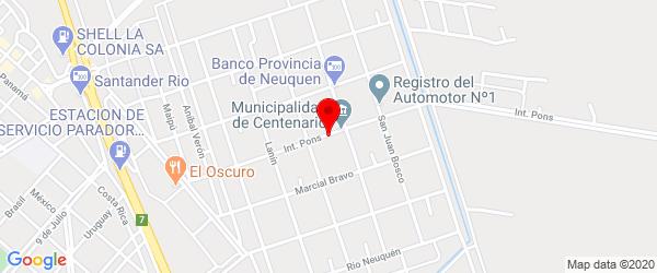 Int. Pons  257, Centenario, Neuquén