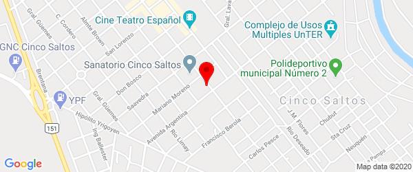 Av. San Martín 57, Cinco Saltos, Río Negro
