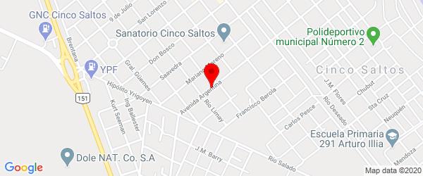 Av. Argentina 355, Cinco Saltos, Río Negro