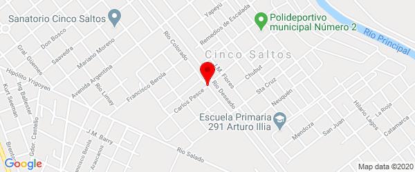 Carlos Pesce 10, Cinco Saltos, Río Negro