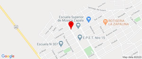 Av. 12 de Julio 1483, Zapala, Neuquén