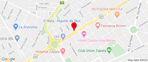 Houssay 850, Zapala, Neuquén