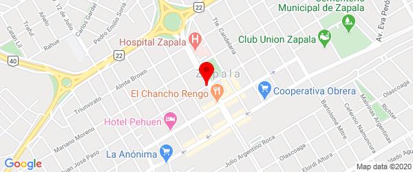 Av. San Martín 301, Zapala, Neuquén