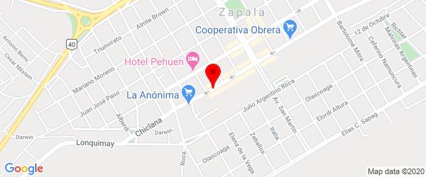 Av. Avellaneda 240, Zapala, Neuquén