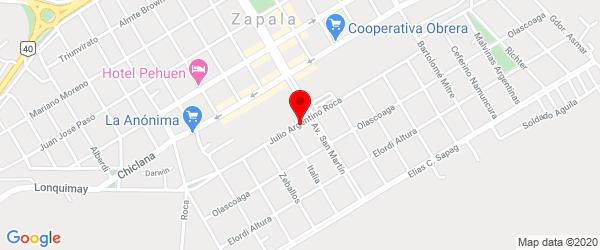 Av. Roca 451, Zapala, Neuquén