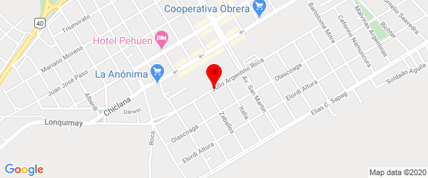 Av. Roca 311, Zapala, Neuquén