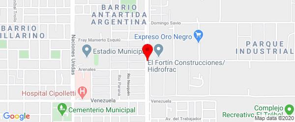 Saturnino Franco, Cipolletti, Río Negro
