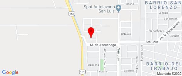 Santa Cruz, Cipolletti, Río Negro