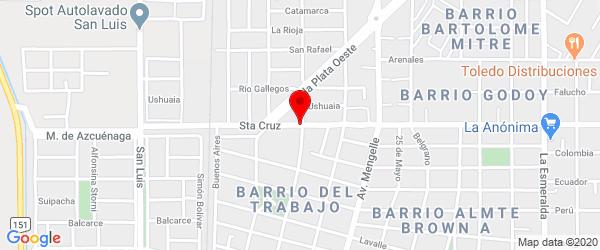 Santa Cruz 152, Cipolletti, Río Negro