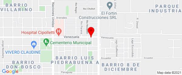 Venezuela 1845, Cipolletti, Río Negro