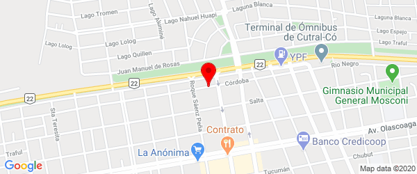 Av. Córdoba 235, Plaza Huincul, Neuquén