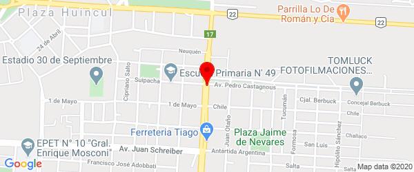 Av. Mariano Moreno 244, Plaza Huincul, Neuquén