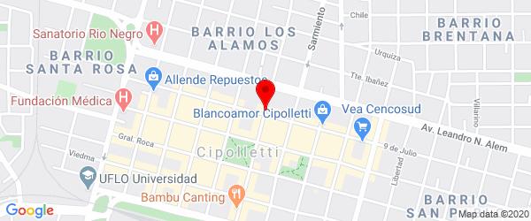 M. Muñoz 415, Cipolletti, Río Negro