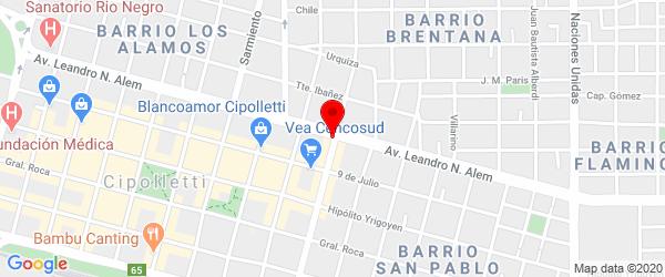 Brentana 415, Cipolletti, Río Negro