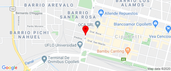 Mengelle 173, Cipolletti, Río Negro