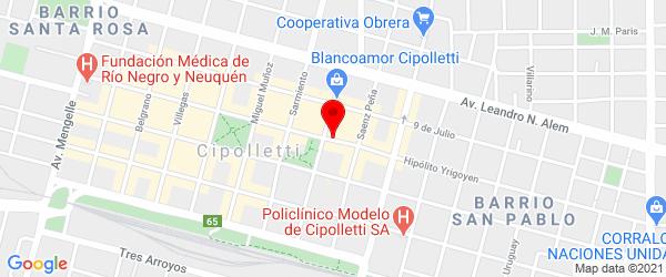 Yrigoyen 732, Cipolletti, Río Negro