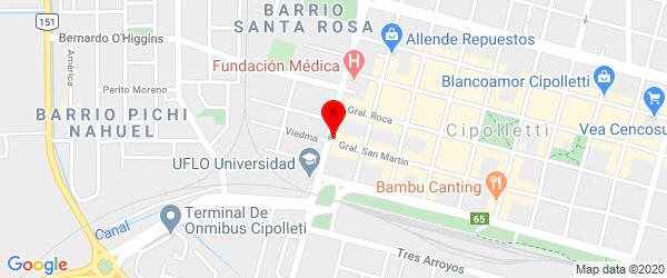 Gral. San Martín 10, Cipolletti, Río Negro