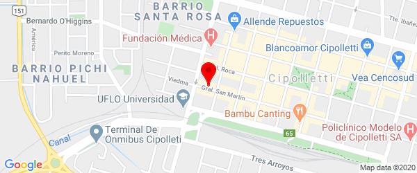 Gral. San Martín 54, Cipolletti, Río Negro