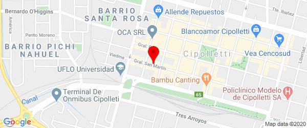Gral. San Martín 152, Cipolletti, Río Negro