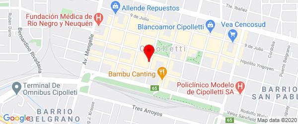 España 154, Cipolletti, Río Negro