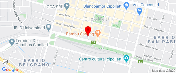 España 38, Cipolletti, Río Negro