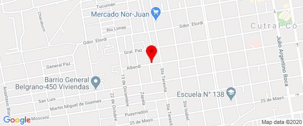 Alberdi 1200, Plaza Huincul, Neuquén