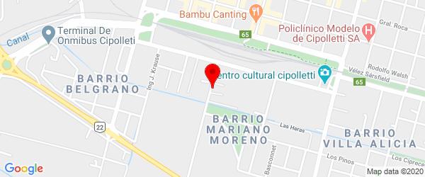 Estado de Israel 110, Cipolletti, Río Negro