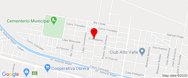 Medanito 492, Allen, Río Negro