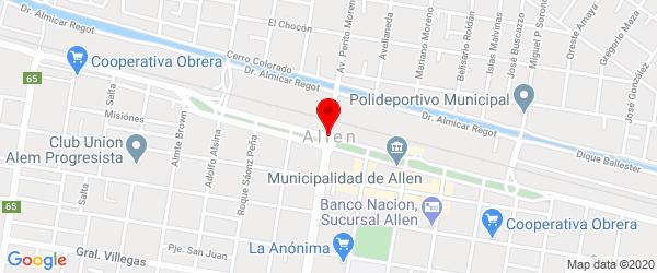 Zona de Bardas, Allen, Río Negro