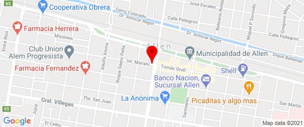 Int. Mariani 9, Allen, Río Negro