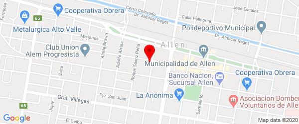 Int. Mariani 120, Allen, Río Negro