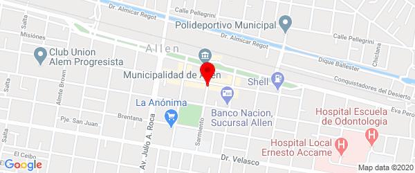 Sarmiento 107, Allen, Río Negro