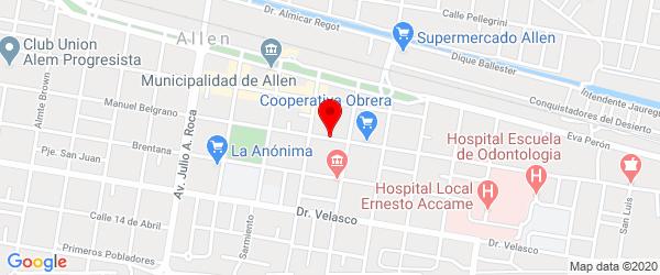 San Martín 352, Allen, Río Negro