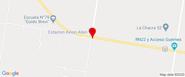 Acceso Amadeo Biló, Allen, Río Negro