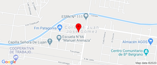 Los Claveles 5162, J. J. Gómez, Río Negro
