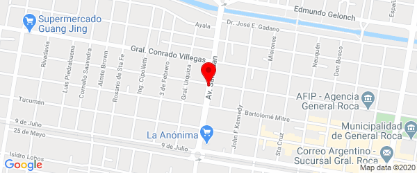 San Juan 1669, General Roca, Río Negro