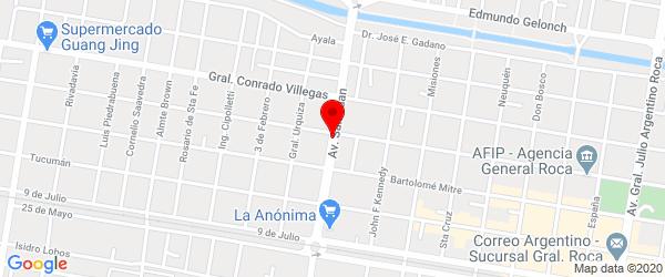San Juan 1614, General Roca, Río Negro