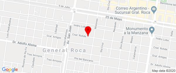 Rodhe 1464, General Roca, Río Negro